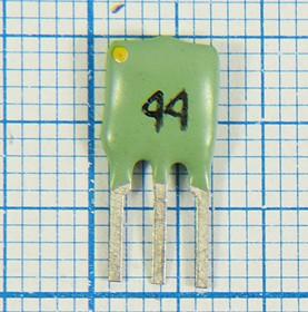 Пьезокерамический полосовой фильтр 10.44МГц, ширина полосы 130кГц, пкер ф 10440 \пол\130/3\SFEL\ 3P\ФП1П6-515\\(лев жел 44)