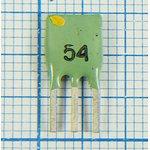 Пьезокерамический полосовой фильтр 10.54МГц, ширина полосы 130кГц ...