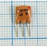 Пьезокерамический полосовой фильтр 10.54МГц, ширина полосы 180кГц ...