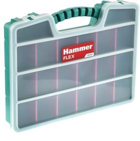 Органайзер Hammer Flex 235-013 (20 ячеек с разделителями) 390*300*60 мм