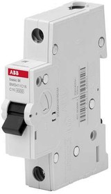 Выключатель авт. мод. 1п С 16А 4.5кА Basic M BMS411C16 ABB 2CDS641041R0164