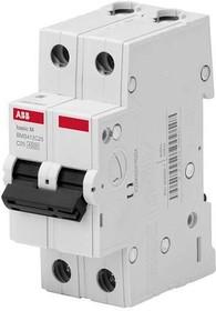 Выключатель авт. мод. 2п С 6А 4.5кА Basic M BMS412C06 ABB 2CDS642041R0064