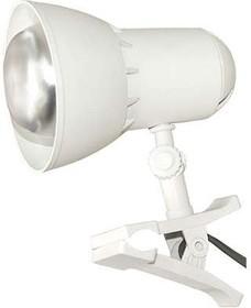 Светильник Надежда 1-мини (на клипсе) без лампы 40Вт ЛОН E27 бел. Трансвит 207