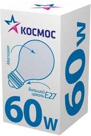 Лампа накаливания ЛОН 60вт А55 230в E27 матовая