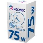 Лампа накаливания A50/A55 75Вт E27 220-240В прозр ...