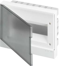 Фото 1/2 Бокс в нишу Basic E 12М сер. прозр. дверь (с клемм) ABB 1SZR004002A1204