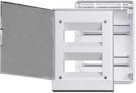 Фото 1/2 Бокс в нишу Basic E 24М сер. прозр. дверь (с клемм) ABB 1SZR004002A1207