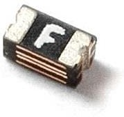 Фото 1/2 0603L035YR, PTC Resettable Fuse 0.35A(hold) 0.75A(trip) 6VDC 40A 0.5W 0.1s 0.2Ohm SMD Solder Pad 0603 T/R