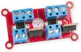 Фото 1/2 RDC1-S2 N power MOSFET, Двухканальный силовой ключ. 2 x N-канал 100В 5.6А