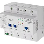 УЗМ-3-63К AC230В/AC400В УХЛ4, Реле контроля 3-х фазного напряжения на DIN-рейку