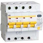 Выключатель автоматический дифференциального тока 4п C 10А ...