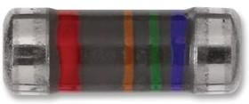 Фото 1/3 MMA02040E2201BB100, MELF резистор поверхностного монтажа, 2.2 кОм, 200 В, 250 мВт, ± 0.1%, Серия MMA 0204