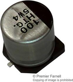 Фото 1/2 EEETK1C101P, SMD электролитический конденсатор, Radial Can - SMD, 100 мкФ, 16 В, 0.3 Ом, Серия TK