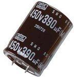 EKMH401VNN331MR45T, Электролитический конденсатор, 330 мкФ, 400 В, KMH Series ...