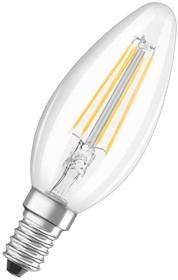 Фото 1/3 LEDSCLB40 4W/827 230V FIL E14, Лампа светодиодная 4Вт,230В