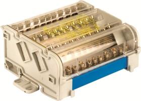 Блок распределительный 4p 7х8мм на DIN-рейку ДКС BD160134