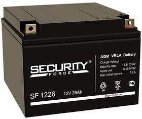 Аккумулятор 12В 26А.ч Security Force SF 1226