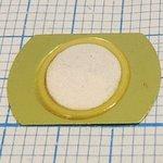 Фото 2/2 Пьезоэлектрическая диафрагма на бронзовой основе диаметром 12мм и толщиной 0,14мм без выводов FT-12T-6,5A1