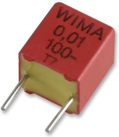 К73-17имп., 330пФ , 100 В, 5%, FKP2D003301D00JSSD, Конденсатор металлоплёночный