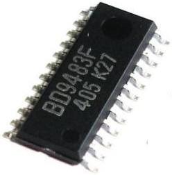 Фото 1/2 BD9483F-GE2, LED-драйвер, 2 канала, [SOP-24]