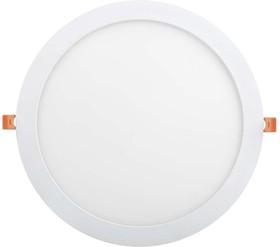 Светильник светодиодный ДВО-24вт 4000К 1680Лм slim белый