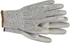 Перчатки с полиуретановым покрытием 5 степень защ. размер 10 сер. (пара) HAUPA 120304/10