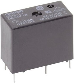 G5Q1AEU5DC, Relay SPST-NO vented, 10A