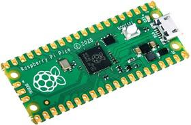 Фото 1/4 Raspberry Pi Pico, Программируемый контроллер на базе RP2040 (32-Бит, ARM Cortex-M0+)