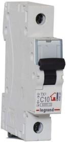 Выключатель автоматический модульный 1п C 10А 6кА TX3 Leg 404026