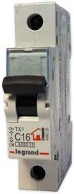 Выключатель автоматический модульный 1п C 16А 6кА TX3 Leg 404028