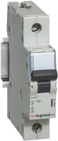 Выключатель автоматический модульный 1п C 50А 6кА TX3 Leg 404033