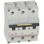 Выключатель автоматический модульный 3п C 125А 10кА/16кА DX3 ...