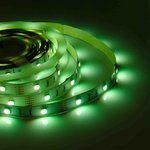 Фото 2/5 00-100, Лента светодиодная RGBW 12В, 7,2Вт/м, smd 5050, 30 д/м, IP20, 10мм,цена за 1м.