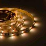 Фото 3/5 00-100, Лента светодиодная RGBW 12В, 7,2Вт/м, smd 5050, 30 д/м, IP20, 10мм,цена за 1м.