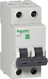 Выключатель автоматический Schneider Electric EASY 9 EZ9F34206 модульный 2п C 6А 4.5кА