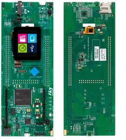 "STM32F412G-DISCO, Отладочная плата на базе MCU STM32F412ZGT6 (ARM Cortex-M4), ST-LINK/V2-1, 1.54"" LCD-TFT, Arduino"