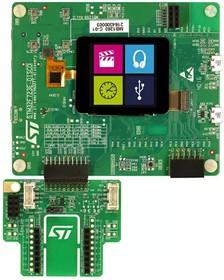 STM32F723E-DISCO, Отладочная плата на базе MCU STM32F723IEK6 (ARM Cortex-M7), ST-LINK/V2-1, LCD-TFT, Arduino, Wi-Fi