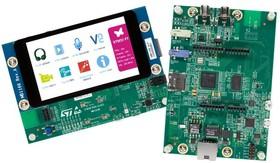 """Фото 1/3 STM32F769I-DISCO, Отладочная плата на базе MCU STM32F769NIH6 (ARM Cortex-M7), ST-LINK/V2-1, 4"""" LCD-TFT, Arduino"""