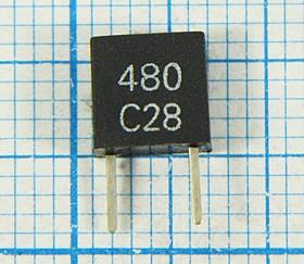 Пьезокерамический фильтр дискриминатор 480кГц пкер ф 480 \дис\\CDBM\2P\CDB480C28\\ (CDB 480C28)