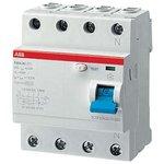 Выключатель дифференциального тока (УЗО) 4п 125А 300мА тип ...
