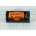 Фото 2/4 Батарейный держатель для элемента ER14250=1/2AA с выключателем; № 681 CC бат держ 1/2AA\\ON-OFF\2C\ BH1/2AA-3S\COMF