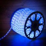 Фото 4/4 121-123, Дюралайт LED, постоянное свечение (2W) - синий, 36 LED/м, бухта 100м (за 1 м)