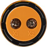 36-5002, Индикатор значения напряжения желтый VD22 70-500 В
