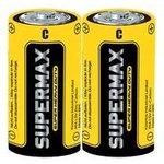 Элемент питания солевой S R14 (уп.2шт) Supermax SUPR14
