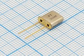 кварцевый резонатор 20.945МГц в миниатюрном корпусе UM1, 1-ая гармоника, нагрузка 30пФ, 20945 \UM1\30\\\U1\1Г (FT20.945)