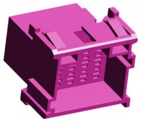 1-967628-1, Корпус разъема, Штекер, 15 вывод(-ов), 5 мм, TE Connectivity AMP MCP Connectors | купить в розницу и оптом
