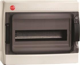 Щит распределительный навесной ЩРн-П-12 IP65 пластиковый прозрачная дверь c клеммным блоком