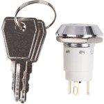 36-4472, Выключатель ключ ø16 250V 2А (3с) ON-ON