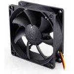 Вентилятор GLACIALTECH GT8025-LWD0B, 80мм, Bulk