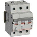 Выключатель-разъединитель 3п 40А RX3 Leg 419412